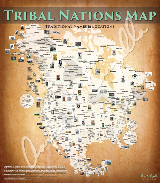 Native American Map Before Colonization.Bordering On Factual Reinventing Fire
